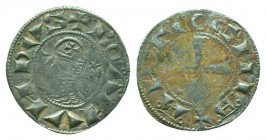CRUSADERS, Antioch. Bohémond III. 1163-1201. AR Denier  Condition: Very Fine  Weight: 9.80 gr Diameter: 17 mm