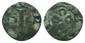 CRUSADERS. Maguelone Bistum, AR denier  Condition: Very Fine  Weight: 0.90 gr Diameter: 16 mm