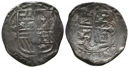 Felipe IV, 1621-1665. 8 Reales,  Condition: Very Fine  Weight: 27.00 gr Diameter: 36 mm