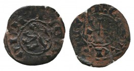 CRUSADERS. Lusignan Kingdom of Cyprus. James II (1460-1473). Ae   Condition: Very Fine  Weight: 0.60 gr Diameter: 14 mm