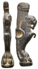 Ancient Roman Knife Handel, Lion Shape, 1st - 2nd Century A.D  Condition: Very Fine  Weight: 46.60 gr Diameter: 67 mm
