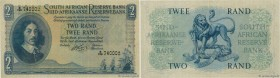 Country : SOUTH AFRICA  Face Value : 2 Rand  Date : (1962-1965)  Period/Province/Bank : South African Reserve Bank  Catalogue reference : P.104b  Alph...