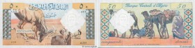 Country : ALGERIA  Face Value : 50 Dinars  Date : 01 janvier 1964  Period/Province/Bank : Banque Centrale d'Algérie  Catalogue reference : P.124a  Alp...