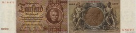 Country : GERMANY  Face Value : 1000 Reichsmark  Date : 22 février 1936  Period/Province/Bank : Reichsbanknote  Catalogue reference : P.184  Additiona...
