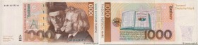 Country : GERMAN FEDERAL REPUBLIC  Face Value : 1000 Deutsche Mark  Date : 01 août 1991  Period/Province/Bank : Deutsche Bundesbank  Catalogue referen...
