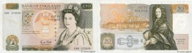 Country : ENGLAND  Face Value : 50 Pounds  Date : (1988-1991)  Period/Province/Bank : Bank of England  Catalogue reference : P.381b  Alphabet - signat...