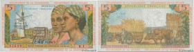 Country : FRENCH WEST INDIES  Face Value : 5 Francs  Date : (1966)  Period/Province/Bank : Institut d'Émission des Départements d'Outre-Mer  Catalogue...