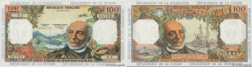 Country : FRENCH WEST INDIES  Face Value : 100 Francs  Date : (1964)  Period/Province/Bank : Institut d'Émission des Départements d'Outre-Mer  Catalog...