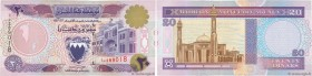 Country : BAHRAIN  Face Value : 20 Dinars  Date : (1993)  Period/Province/Bank : Bahrain Monetary Agency  Catalogue reference : P.16  Alphabet - signa...