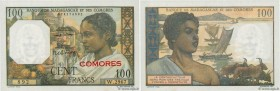 Country : COMOROS  Face Value : 100 Francs  Date : (1960)  Period/Province/Bank : Banque de Madagascar et des Comores  Catalogue reference : P.3b  Add...