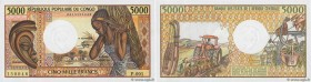 Country : CONGO  Face Value : 5000 Francs  Date : (1984)  Period/Province/Bank : B.E.A.C.  Department : République Populaire du Congo  Catalogue refer...