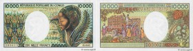 Country : CONGO  Face Value : 10000 Francs  Date : (1983)  Period/Province/Bank : B.E.A.C.  Department : République Populaire du Congo  Catalogue refe...