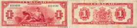 Country : CURACAO  Face Value : 1 Gulden  Date : 1947  Period/Province/Bank : Muntbiljet  Catalogue reference : P.35b  Alphabet - signatures - series ...