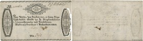 Country : DENMARK  Face Value : 1 Rigsbankdaler  Date : 1819  Period/Province/Bank : National Bank in Copenhagen  Catalogue reference : P.A53  Alphabe...