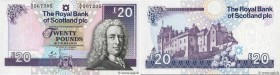 Country : SCOTLAND  Face Value : 20 Pounds  Date : 19 septembre 2006  Period/Province/Bank : Royal Bank of Scotland PLC  Catalogue reference : P.354a ...
