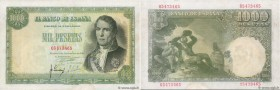 Country : SPAIN  Face Value : 1000 Pesetas  Date : 04 novembre 1949  Period/Province/Bank : Banco de Espana  Catalogue reference : P.138  Alphabet - s...