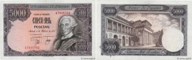 Country : SPAIN  Face Value : 5000 Pesetas  Date : 06 février 1976  Period/Province/Bank : Banco de Espana  Catalogue reference : P.155  Alphabet - si...
