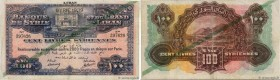 Country : SYRIA  Face Value : 100 Livres Syriennes  Date : 1939  Period/Province/Bank : Banque de Syrie et du Grand-Liban  Catalogue reference : P.39F...