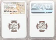 MACEDONIAN KINGDOM. Alexander III the Great (336-323 BC). AR drachm (18mm, 12h). NGC Choice XF. Early posthumous issue of Colophon, 310-301 BC. Head o...