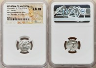 MACEDONIAN KINGDOM. Alexander III the Great (336-323 BC). AR drachm (16mm, 12h). NGC Choice XF. Early posthumous issue of Magnesia ad Maeandrum, ca. 3...
