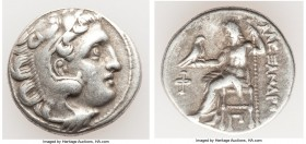 MACEDONIAN KINGDOM. Alexander III the Great (336-323 BC). AR drachm (18mm, 4.19 gm, 12h). Choice VF. Early posthumous issue of Colophon, ca. 310-301 B...