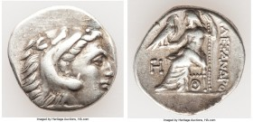 MACEDONIAN KINGDOM. Alexander III the Great (336-323 BC). AR drachm (19mm, 4.26 gm, 5h). VF. Posthumous issue of Lampsacus, ca. 310-301 BC. Head of He...