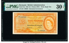 Bermuda Bermuda Government 5 Pounds 20.10.1952 Pick 21a PMG Very Fine 30 EPQ.   HID09801242017  © 2020 Heritage Auctions | All Rights Reserve