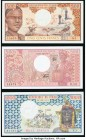 Chad Banque Des Etats De L'Afrique Centrale Group Lot of 3 Examples About Uncirculated-Crisp Uncirculated.   HID09801242017  © 2020 Heritage Auctions ...