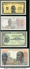 French West Africa Group Lot of 7 Examples Very Fine-Crisp Uncirculated. Pinholes on (1942) 5 Francs.  HID09801242017  © 2020 Heritage Auctions | All ...