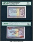 Mali Banque de la Republique du Mali 50 Francs 1960 (ND 1967) Pick 6; 6s Issued; Specimen PMG About Uncirculated 55; Gem Uncirculated 65 EPQ. Red Spec...