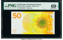 Netherlands Netherlands Bank 50 Gulden 4.1.1982 Pick 96 PMG Superb Gem Uncirculated 69 EPQ.   HID09801242017  © 2020 Heritage Auctions | All Rights Re...