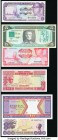 World Group Lot of 9 Examples About Uncirculated-Crisp Uncirculated.   HID09801242017  © 2020 Heritage Auctions | All Rights Reserve