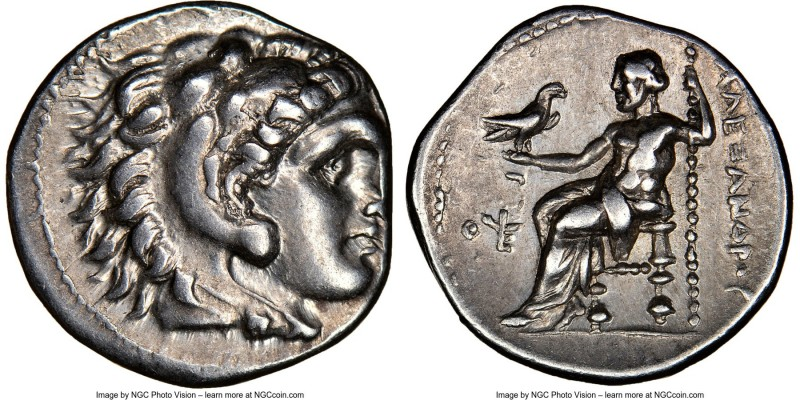 MACEDONIAN KINGDOM. Alexander III the Great (336-323 BC). AR drachm (17mm, 10h)....