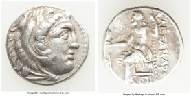 MACEDONIAN KINGDOM. Alexander III the Great (336-323 BC). AR drachm (17mm, 4.35 gm, 12h). Choice VF. Posthumous issue of Teos, ca. 310-301 BC. Head of...