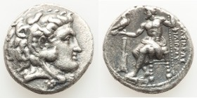 MACEDONIAN KINGDOM. Philip III Arrhidaeus (323-317 BC). AR tetradrachm (26mm, 16.75 gm, 12h). About XF. Lifetime or early posthumous issue of Salamis,...