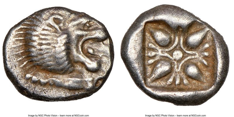 IONIA. Miletus. Ca. late 6th-5th centuries BC. AR 1/12 stater or obol (10mm). NG...