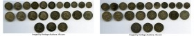 George III 22-Piece Lot of Uncertified Assorted Maundy Issues, Lot includes: 5 Pennies dated 1763, 1784, 1786, 1800, 1800, 2 Pence dated 1763, 1780, 1...