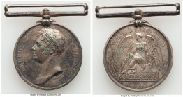 "George III silver ""Battle of Waterloo"" Medal 1815 XF (Residue), cf. Eimer-1070 (different portrait), BHM-880 (same). 35.7mm. 33.57gm. Looped as issued..."