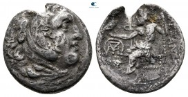 "Kings of Macedon. Chios. Alexander III ""the Great"" 336-323 BC. Drachm AR"