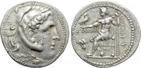 KINGS OF MACEDON. Alexander III 'the Great' (336-323 BC). Tetradrachm. Rhodes. Ainetor, magistrate.