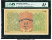 Afghanistan Treasury 50 Afghanis ND (1928) / SH1307 Pick 10b PMG Choice About Unc 58. Minor corner damage; annotation.  HID09801242017  © 2020 Heritag...