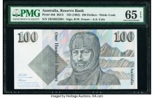 Australia Australia Reserve Bank 100 Dollars ND (1992) Pick 48d R613 PMG Gem Uncirculated 65 EPQ.   HID09801242017  © 2020 Heritage Auctions | All Rig...