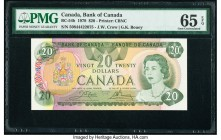 Canada Bank of Canada $20 1979 Pick 93b BC-54b PMG Gem Uncirculated 65 EPQ.   HID09801242017  © 2020 Heritage Auctions | All Rights Reserve