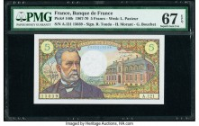 France Banque de France 5 Francs 8.1.1970 Pick 146b PMG Superb Gem Unc 67 EPQ.   HID09801242017  © 2020 Heritage Auctions | All Rights Reserve