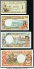 World (French Indochina, New Caledonia) Group Lot of 4 Examples About Uncirculated-Crisp Uncirculated. Possible trimming is evident.   HID09801242017 ...