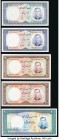 Iran Group Lot of 5 Examples About Uncirculated-Crisp Uncirculated. Possible trimming is evident.   HID09801242017  © 2020 Heritage Auctions | All Rig...