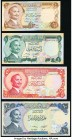 Jordan Central Bank of Jordan Group Lot of 4 Examples Very Fine-Crisp Uncirculated. Possible trimming is evident.   HID09801242017  © 2020 Heritage Au...