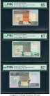 Kuwait Central Bank of Kuwait 1/4; 1/2; 1; 5; 10; 20 Dinars 1968 (ND 1994) Pick 23f; 24f; 25f; 26f; 27; 28 Six Examples PMG Gem Uncirculated 65 EPQ (2...