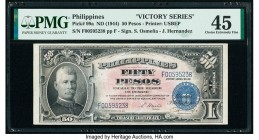 Philippines Philippine National Bank 50 Pesos ND (1944) Pick 99a PMG Choice Extremely Fine 45. Annotations lightened.  HID09801242017  © 2020 Heritage...