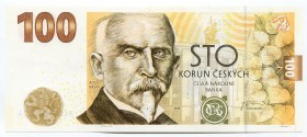 "Czech Republic Commemorative Banknote ""100th Anniversary of the Czechoslovak Crown"" 2019 RARE